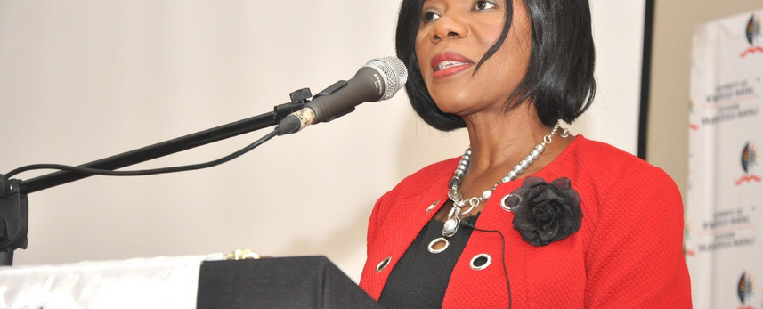 Public Protector: Thuli Madonsela addressing UKZN women in celebration of Women's Month