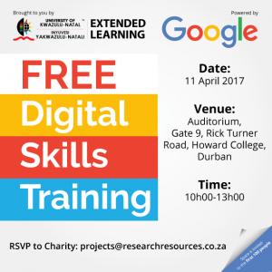 Google training 11 April 2017